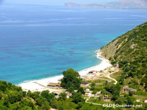 Albania Beaches Dhermi Dhermi Albania Vlorë