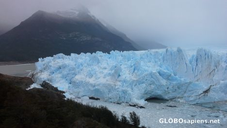 The face of Perito Moreno glacier