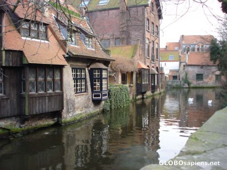 The most beautiful canal in Brugge