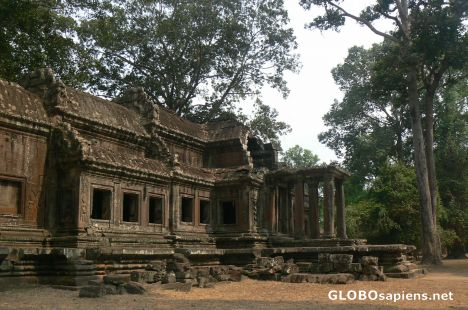 Near the west gate of Angkor