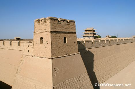 Jiayuguan - the west end of the Great Wall (2)