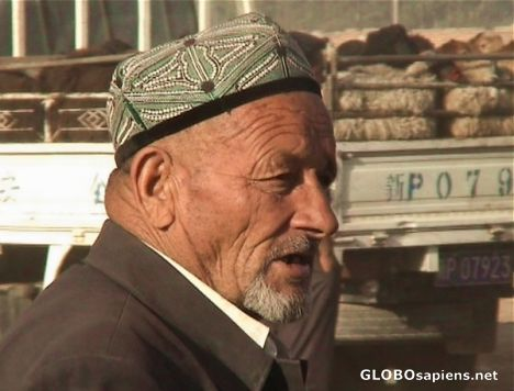 Uighur man from Kashgar