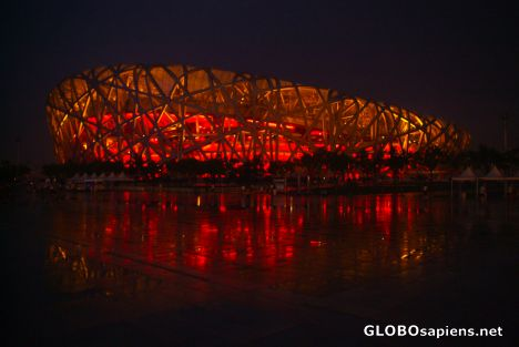 Beijing (CN) - Bird's Nest at Night