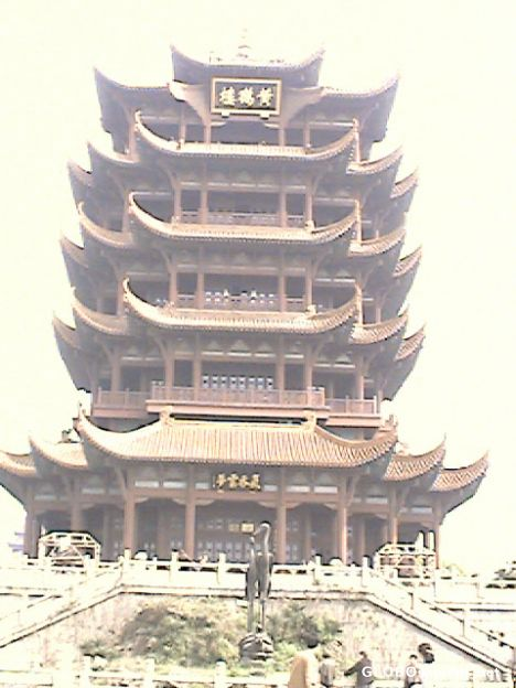 The Yellow Crane Tower in Wuhan