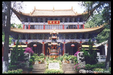 Bamboo temple in Kunming.