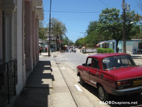 Small town on the road from Holguin to Baracoa