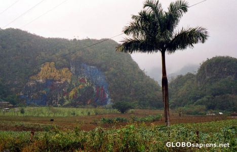 Vinales - Hill Painting