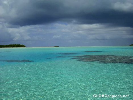 Aitutaki - Just before storm