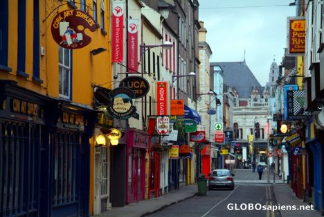 Cork - side street in the centre