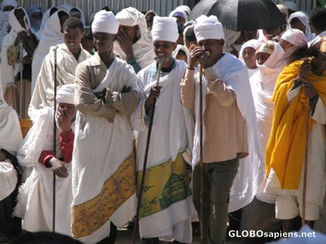 Ethiopian Copt Monks
