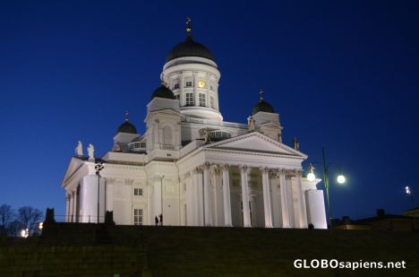 Helsinki (FI) - The Cathedral at night