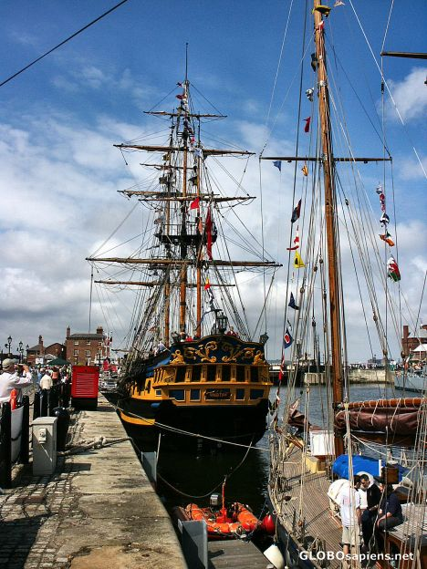 Tall ships albert dock