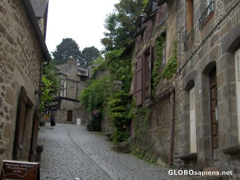 Old Town in Dinan