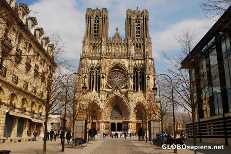 Cathedral in Reims