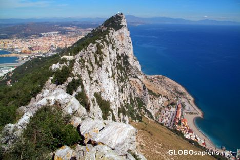 Gibraltar - Northern view