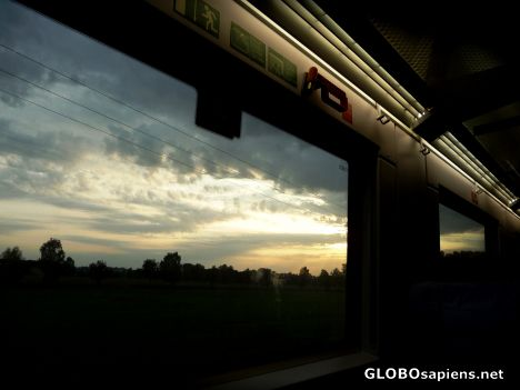 A train with a view 1 -