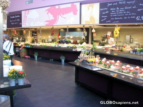 berlin germany kadewe food hall globosapiens. Black Bedroom Furniture Sets. Home Design Ideas