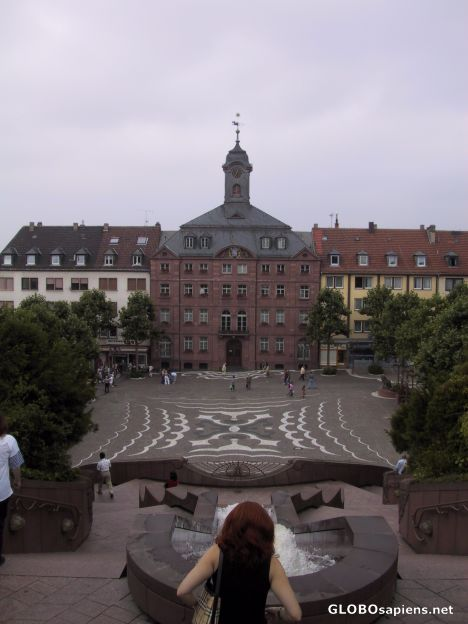 The old Rathaus