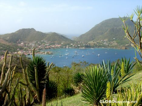 Les Saintes - Sight from the Fort Napoleon