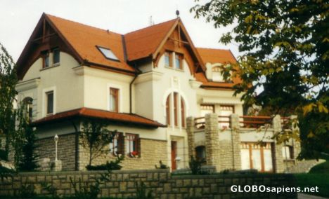 A dwelling-house in the hills of Mecsek