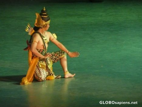 Performance at Prambanan