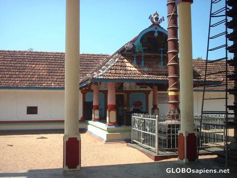 A Wonderful old temple of Lord Siva in Cherai.