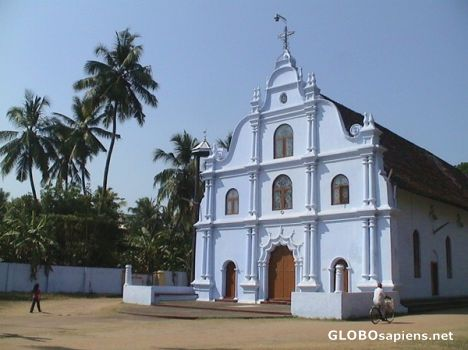 Colonial church in Cochin