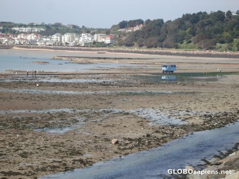 Low tide in St Heleirs