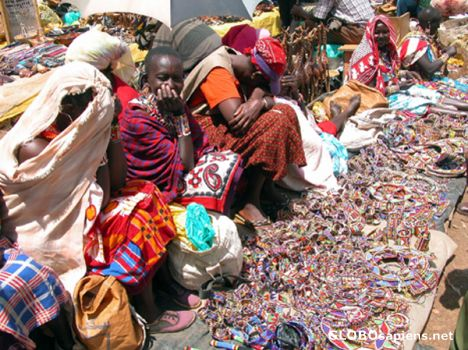 Nairobi Kenya - Masai Women.