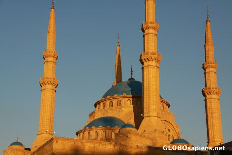 Mosque, downtown Beirut