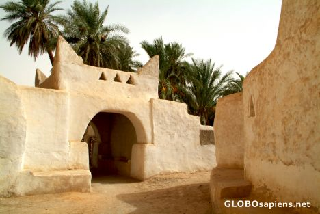Ghadames - old town gate