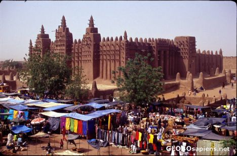 Mosque in Djenne