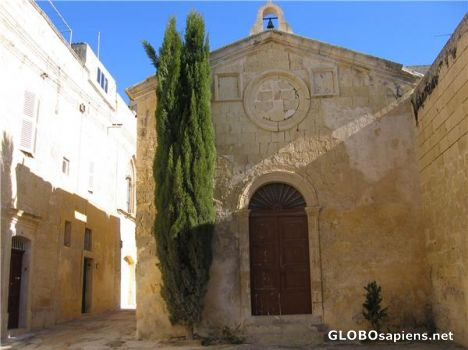A Church in the Old Town of Mdina