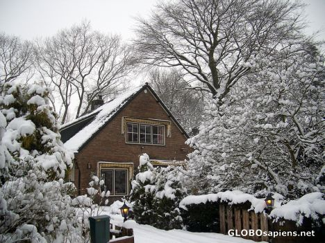 Snow in Holland