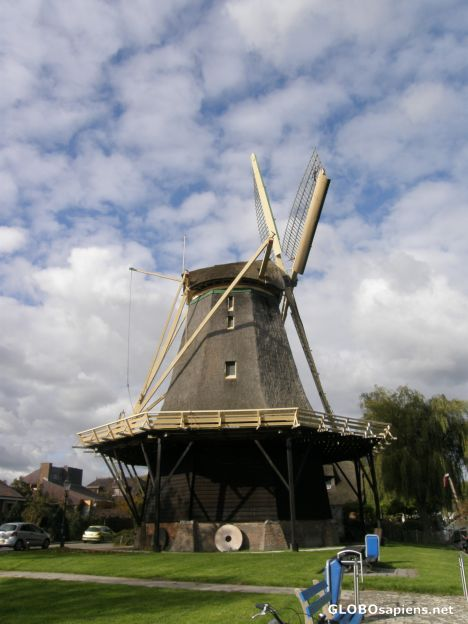 One of Weesp's three windmills