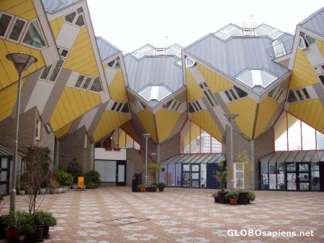 Cube Houses Rotterdam Netherlands In 2017 2018 Best