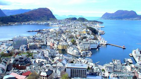 Alesund from the hill