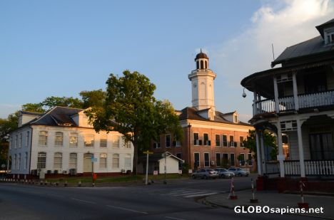 Paramaribo (SR) - in the old town
