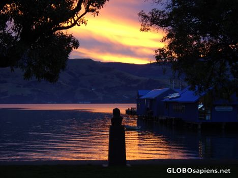Akaroa - sunset