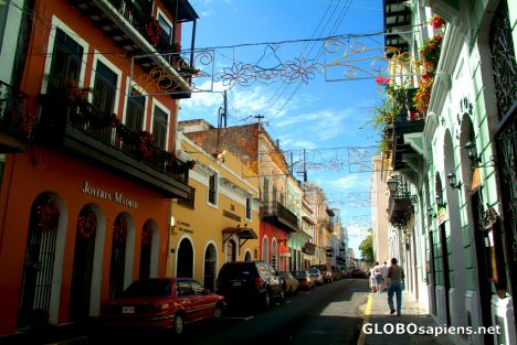 San Juan - one of major old town streets
