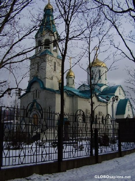 Main Cathedral (Russian Orthodox) in Sakhalin Isl.
