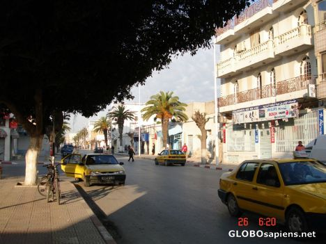 Streets of Nabeul