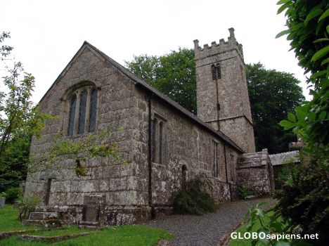 Gidleigh Parish Church, Devon