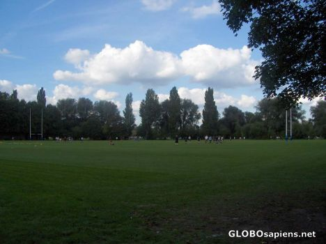 The rugby field in Eton