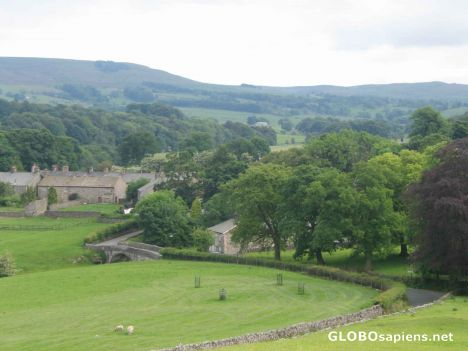 View of Slaidburn, Forest of Bowland