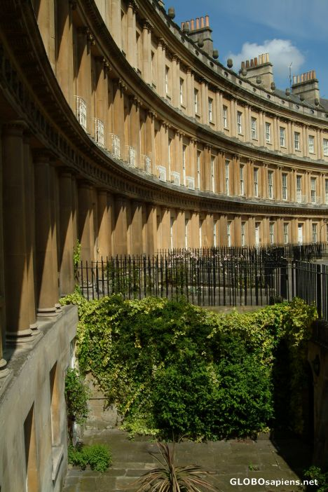 A fragment of The Royal Crescent
