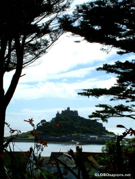 St Michael's Mount - from the distance