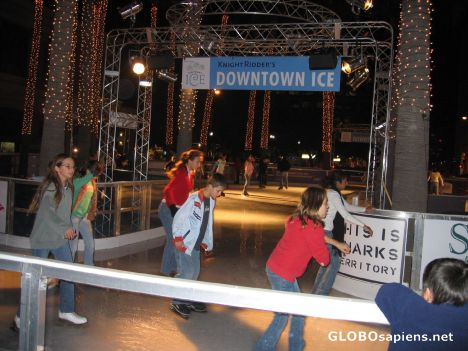 san jose united states christmas in the park ice skating w palm trees globosapiens