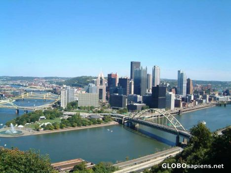 My wonderful home city of Pittsburgh, PA