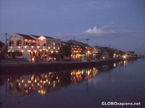 Hoi An River By Night